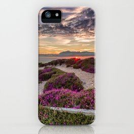 Headon Hill Sunset Isle Of Wight iPhone Case