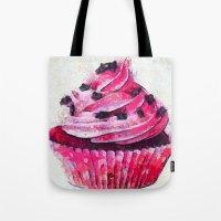 cupcake Tote Bags featuring Cupcake by A.Aenska-Cholpanova