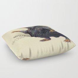 Niffler art Fantastic Beasts Floor Pillow