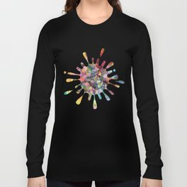 Colours - The Magic of Life Long Sleeve T-shirt