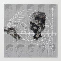 fibonacci Canvas Prints featuring Fibonacci by eglerama