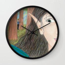 Royal Admirer Wall Clock