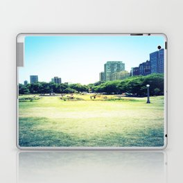 Chicago (outside Lincoln Park Zoo) Laptop & iPad Skin