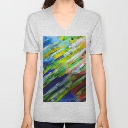 Underwater Painting Unisex V-Neck