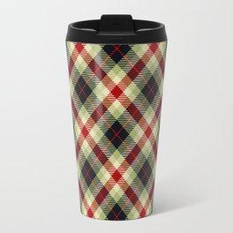 Holiday Plaid 5 Travel Mug