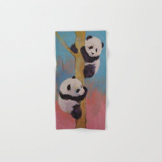 Panda Fun Hand & Bath Towel