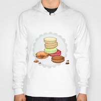 macarons Hoodies featuring Macarons | SCARLETTDESIGNS. by ScarlettDesigns