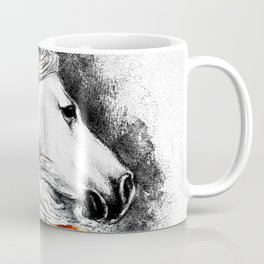 Dark Beauty Horse Coffee Mug