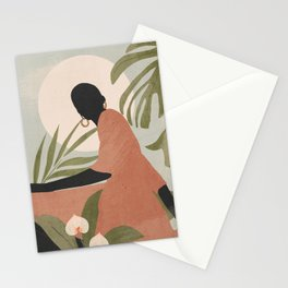 Tropical Girl 21 Stationery Cards