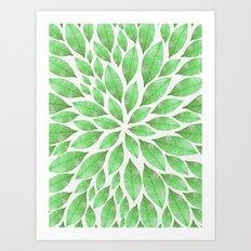 Petal Burst #23 Art Print