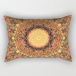 Marigold Mandala Rectangular Pillow