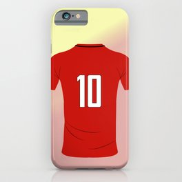 10 Futbol iPhone Case
