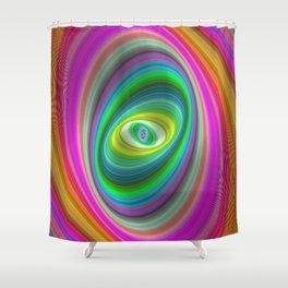 Elliptical magic Shower Curtain