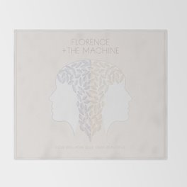 Florence + The Machine Throw Blanket