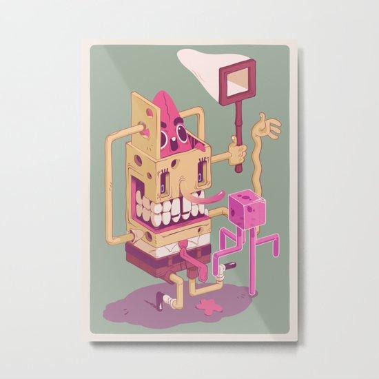 Spongebob Metal Print