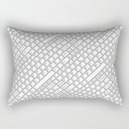 Keyboarded Rectangular Pillow