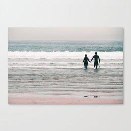 surf love Canvas Print