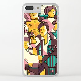 StarWars Clear iPhone Case