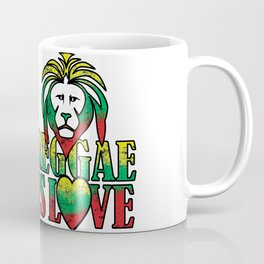 Reggae is love Coffee Mug
