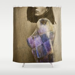 you make me feel like . . . Shower Curtain