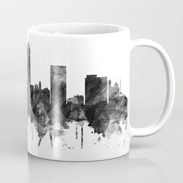 Amarillo Texas Skyline BW Coffee Mug