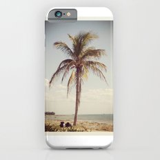 Palm Tree Water Tropical Plant Color Photography Slim Case iPhone 6s