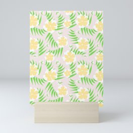 21 Tropical Soft Flowers Mini Art Print