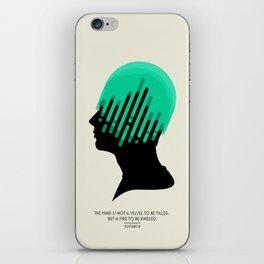 The Mind. iPhone Skin