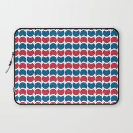 Hob Nob America Stripes Laptop Sleeve