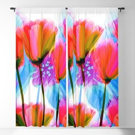 Spring Fever Floral Blackout Curtain