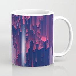 Glitchin' - Abstract Pixel Art Coffee Mug