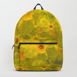 Narcissus bouquet Backpack
