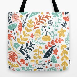 Forest Flora Tote Bag
