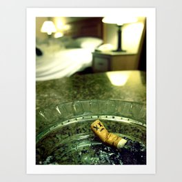 Smoking Room Art Print