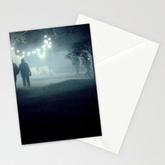 evening stroll Stationery Cards