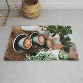Latte + Plants Rug