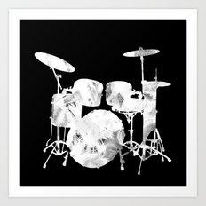 Invert drum Art Print