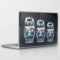 doll Laptop & iPad Skins featuring Nesting Doll X-Ray by Ali GULEC