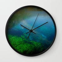 underwater Wall Clocks featuring underwater by habish