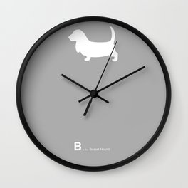 Basset Hound | Dogs Wall Clock