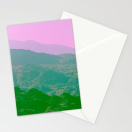 Palm Springs Mountains IV Stationery Cards