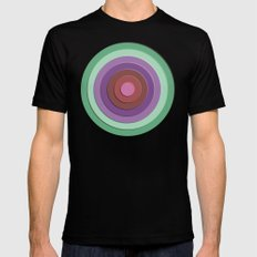 concentric Black MEDIUM Mens Fitted Tee