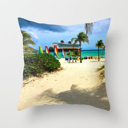 Castaway Cay - DCL Throw Pillow