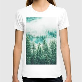 Forest + Fog #photography #nature T-shirt