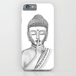 Shh... Do not disturb - Buddha iPhone Case