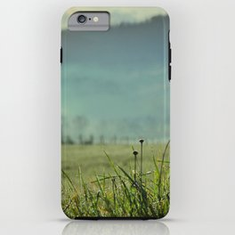 Misty morning in Tuscany iPhone Case