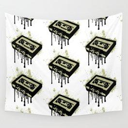 Cassette Splatter Wall Tapestry