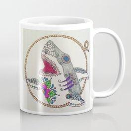 Day of The Dead Shark Coffee Mug