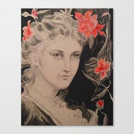 PreRaphaelite Pink Canvas Print