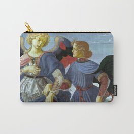 """Workshop of Andrea del Verrocchio """"Tobias and the Angel"""" Carry-All Pouch"""